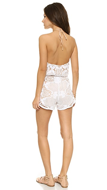 Miguelina Harriet Short Romper