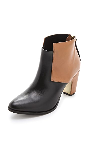 Miista Aile Colorblock Booties