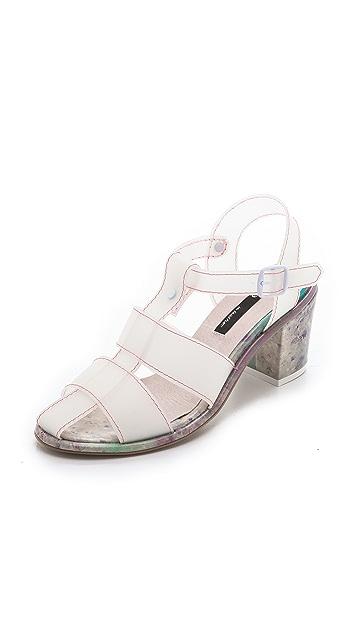 Miista June T Strap Sandals