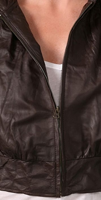 Mike & Chris Paul Leather Jacket
