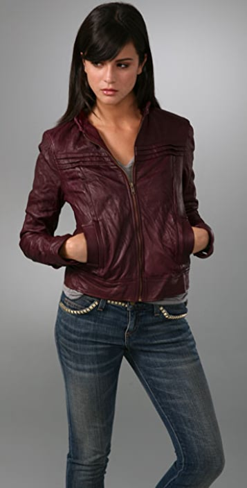 Mike & Chris Deon Leather Jacket