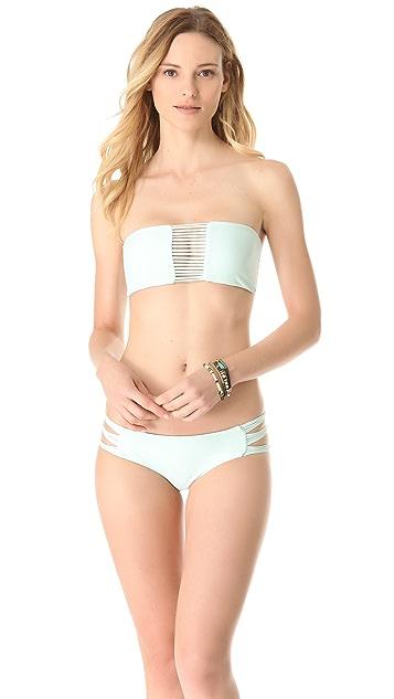 MIKOH Velzyland Tie Side Bikini Bottoms