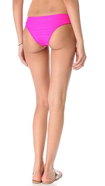 MIKOH Tamarama Banded Bikini Bottoms