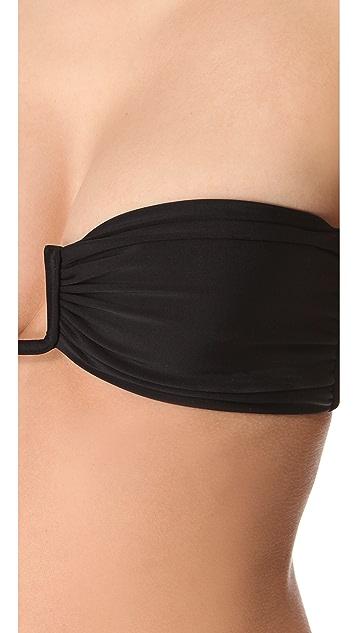 MIKOH St. Barths U Wire Bikini Top
