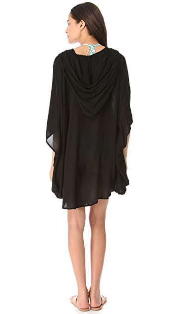 MIKOH Cardiff Hooded Caftan Cover Up