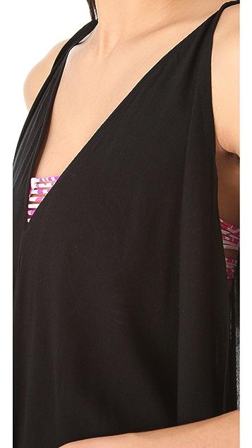 MIKOH Ala Moana Cover Up Maxi Dress