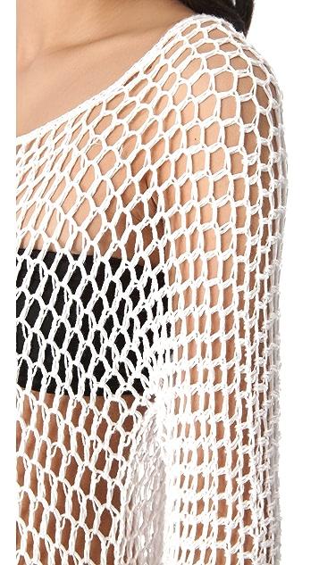 MIKOH Kandui Crochet Cover Up
