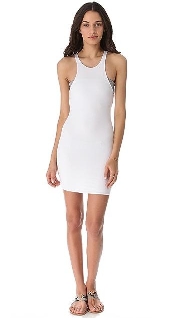 MIKOH Honolua Cover Up Mini Dress