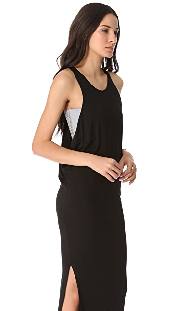 MIKOH Mavericks Cover Up Maxi Dress