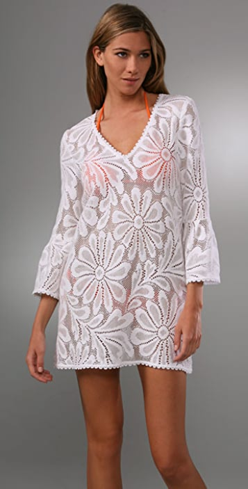 Milly Cotton Lace Cover Up