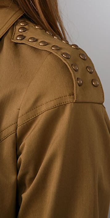 Milly Cafe Studded Trench