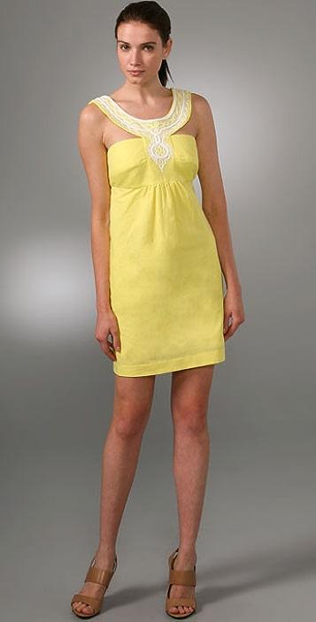 Milly Mini Empire Shift Dress
