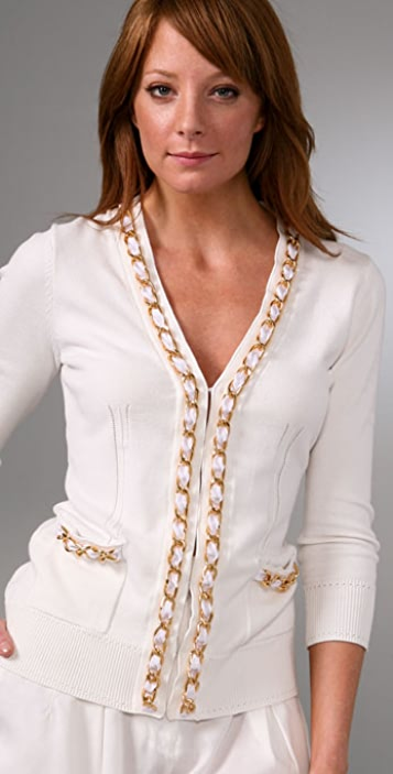Milly Chain Cardigan