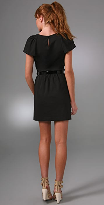 Milly Lady Puff Sleeve Dress