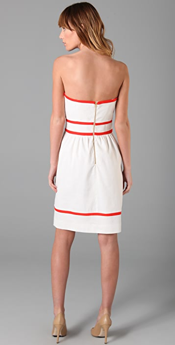 Milly Kerri Strapless Dress