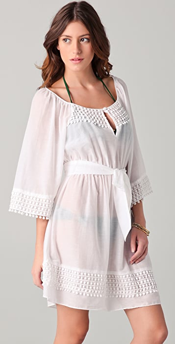 Milly Trellis Bay Cover Up Dress