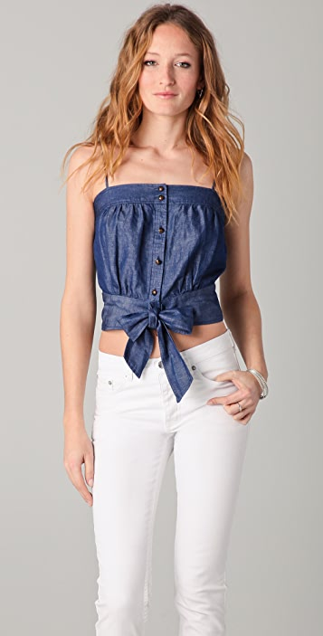 Milly Sarey Chambray Camisole