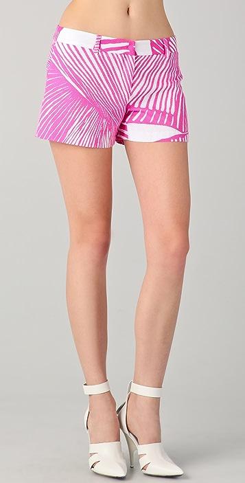 Milly Shell Print Mini Shorts