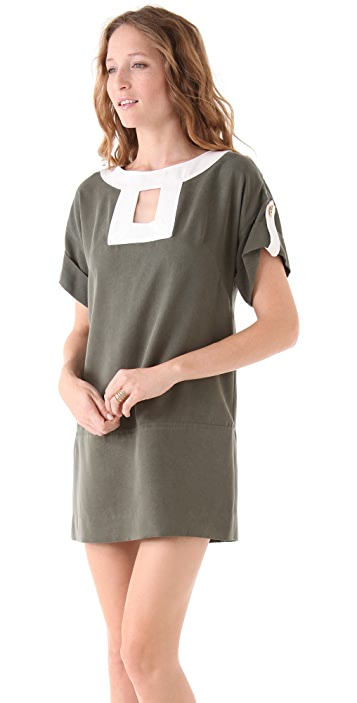 Milly Claire Combo Dress