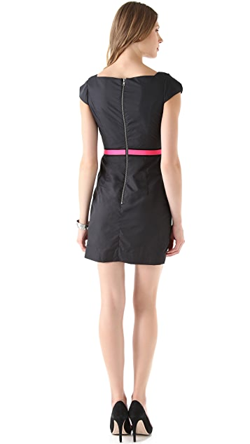 Milly Tech Nylon Sheath Dress