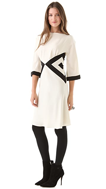 Milly Bex Colorblock Dress