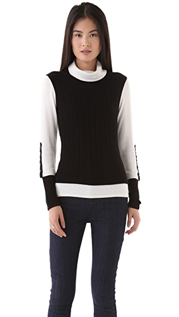 Milly Julia Turtleneck Sweater