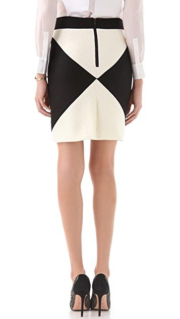 Milly Colorblock Pencil Skirt