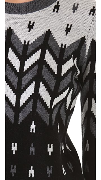 Milly Montana Intarsia Sweater