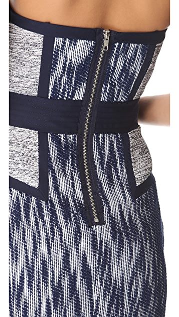 Milly Dianna Strapless Dress