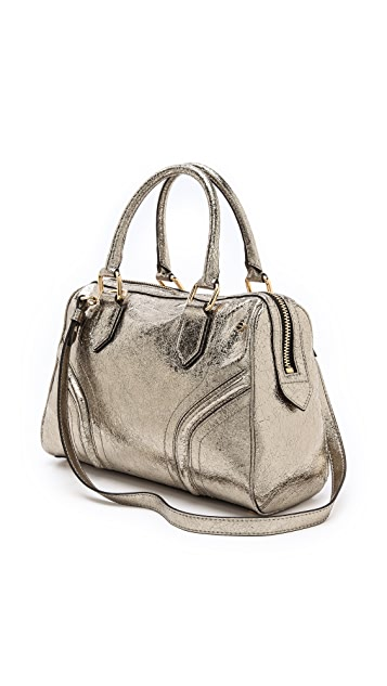 Milly Zoey Metallic Satchel