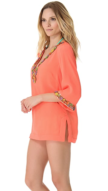 Milly Catalina Beaded Tunic