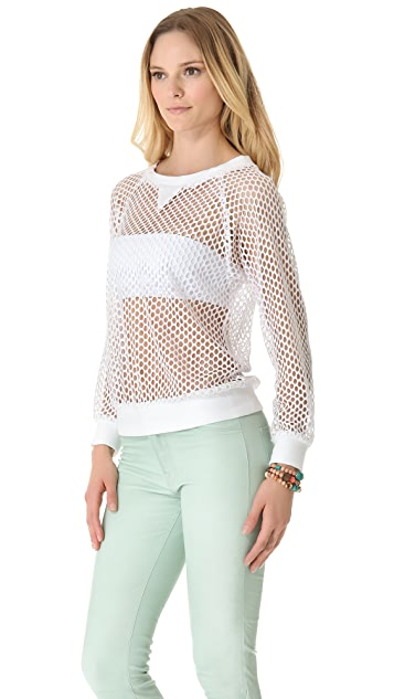 Milly Mesh Top