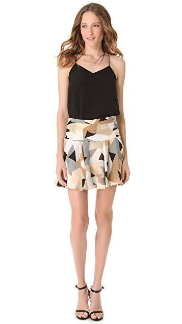Milly Ari Swirl Skirt