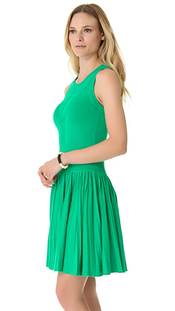 Milly Josephine Pleated Dress