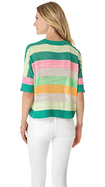 Milly Sabrina Striped Sweater