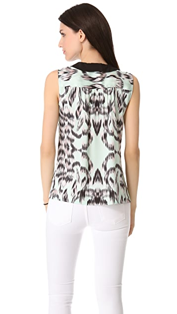 Milly Anat Sleeveless Top