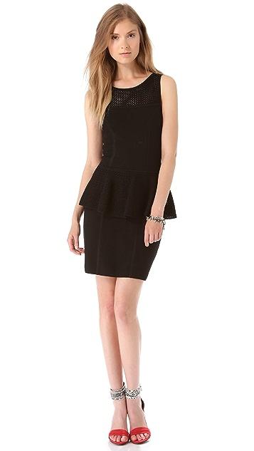 Milly Nicole Peplum Dress