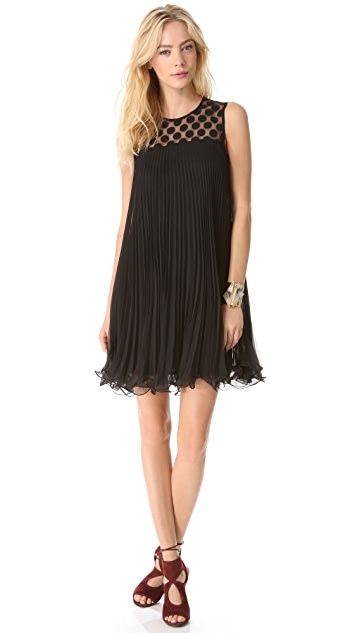 Milly Carolyn Pleated Dress