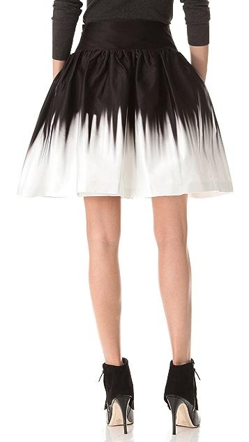 Milly Karina Ombre Skirt