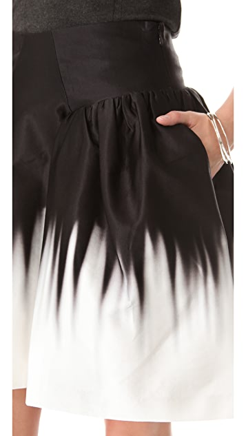 Milly Karina Ombre Skirt