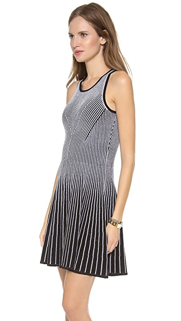 Milly Two Tone Rib Dress