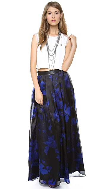 Milly Boho Ankle Length Skirt