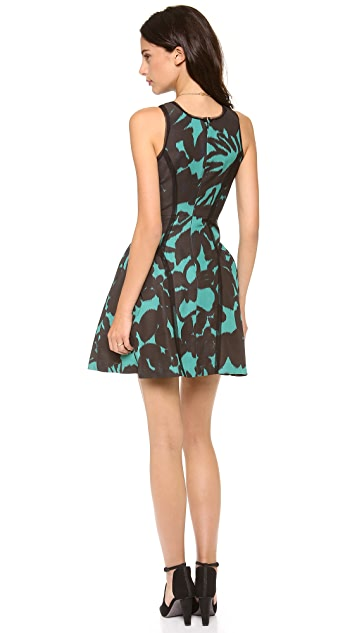 Milly Paneled Party Dress