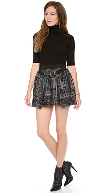 Milly Gathered Skirt