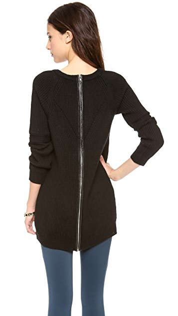 Milly Brioche Zip Back Tunic