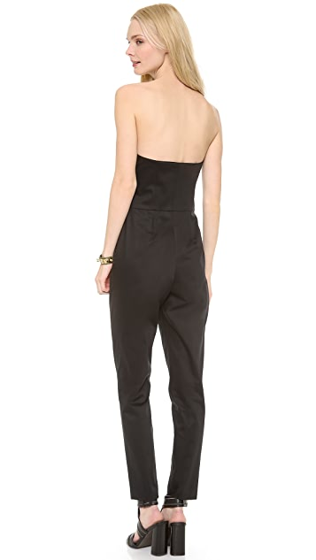 Milly Strapless Jumpsuit