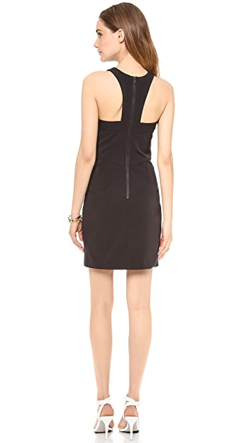 Milly Racer Cutout Dress