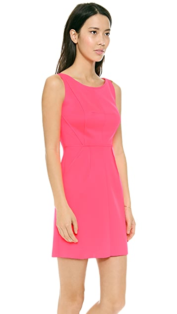 Milly Seamed Detail Dress