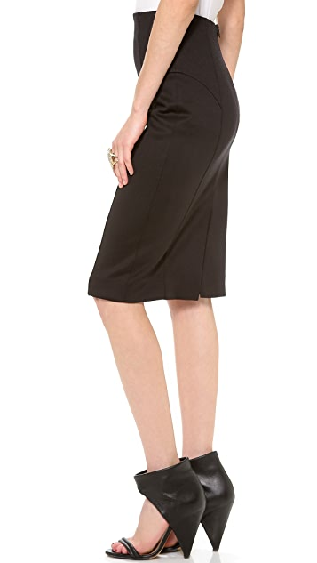 Milly High Waisted Pencil Skirt