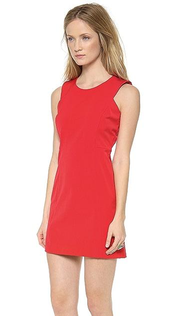 Milly Sleeveless Shift Dress